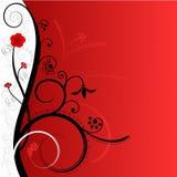 Vermelho & branco Fotos de Stock