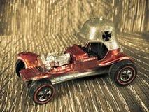 Vermelho Baron Hot Wheels Toy do vintage Imagem de Stock