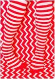 Vermelho & branco Imagens de Stock Royalty Free
