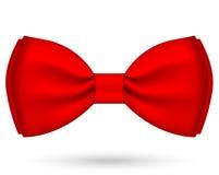 Vermelho curvar-amarre Fotografia de Stock