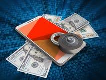 vermelho 3D Imagens de Stock