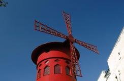 Vermelho de Moulin Fotos de Stock Royalty Free