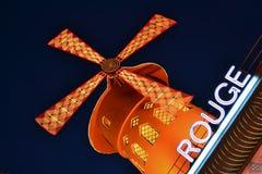 Vermelho de Moulin imagens de stock royalty free