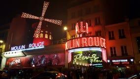 Vermelho de Moulin Fotografia de Stock