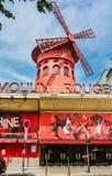 Vermelho de Moulin, Paris, França Foto de Stock
