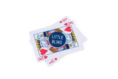 Vermelho de Pokerchips imagem de stock