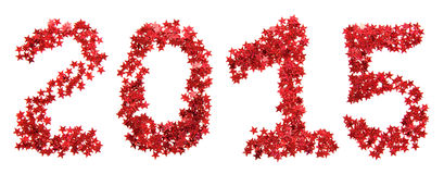 Vermelho do ano novo Foto de Stock