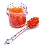 Vermelho do caviar Imagens de Stock Royalty Free