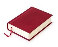 Vermelho do livro fotografia de stock