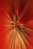 Vermelho do Natal e fundo do ouro Foto de Stock