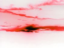 Vermelho do respingo da cor do fundo Foto de Stock