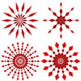 Vermelho do rubi Imagem de Stock Royalty Free