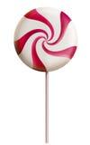 Vermelho dos doces do Lollipop ilustração do vetor