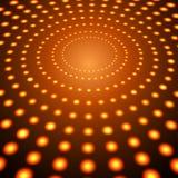 Vermelho Dots Abstract Vetora Background da perspectiva EPS10 Fotografia de Stock