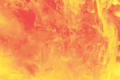 Vermelho e amarelo Fotografia de Stock Royalty Free