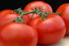 Vermelho e suculento Fotografia de Stock