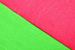 Vermelho e verde Fotos de Stock Royalty Free