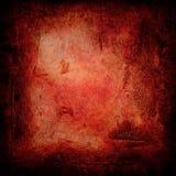 Vermelho gótico do grunge Fotos de Stock Royalty Free