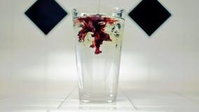 Vermelho imediato do realçador do sabor da água filme