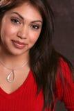 Vermelho latino-americano 1 Imagem de Stock Royalty Free