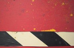 Vermelho, preto e branco Imagem de Stock