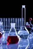 Vermelho puro na garrafa Foto de Stock