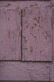 Vermelho velho placas de madeira pintadas Imagem de Stock Royalty Free