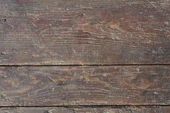 Vermelho velho placas de madeira pintadas Foto de Stock Royalty Free