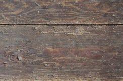 Vermelho velho placas de madeira pintadas Fotografia de Stock Royalty Free