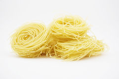 Vermicelli. Studio shot. Copy space Royalty Free Stock Photography