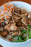 Vermicelli with chicken Stock Photo