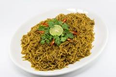 Vermicelli del riso fritto Immagini Stock Libere da Diritti