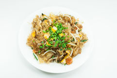 Vermicelli Pad Thai, Thailand`s national dishes. Thai style noodles Royalty Free Stock Image