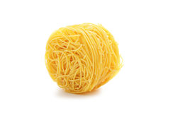 Vermicelli pasta nest Royalty Free Stock Photos