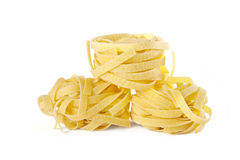 Vermicelli pasta nests Stock Photography