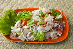 Vermicelli Salad. Stock Photography