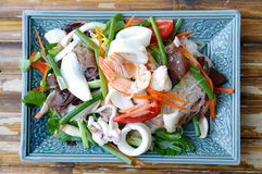 Vermicelli salad Stock Images