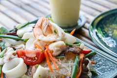 Vermicelli salad Royalty Free Stock Image