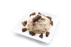 Vermicelli Salad Royalty Free Stock Photography