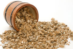 Vermiculite used in potting plants Stock Photos