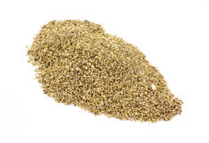 Vermiculite on white background Royalty Free Stock Photography