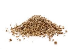 Vermiculiten är en mångsidig hydrous phyllosilicatemineral Royaltyfri Fotografi