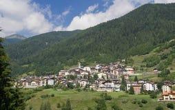 Vermiglio, val di Sole, Italy Stock Image