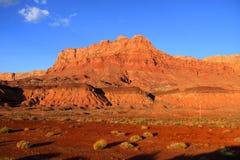 Vermilion скалы Стоковое Фото