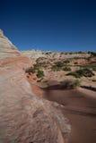 Vermilion Cliffs landscape. Scenic landscape of Vermilion Cliffs National Park, Arizona desert, U.S.A Royalty Free Stock Photos