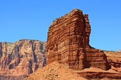 Vermilion Cliffs (4). Landscape in northern Arizona with red cliffs Stock Image