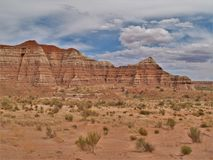 Vermilion Cliffs National Monument in Utah. Remote and unspoiled, this 294,000-acre monument in Arizona and southern Utah is a geologic treasure, containing Stock Images