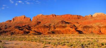 Vermilion cliffs. Near Page Arizona Royalty Free Stock Photography
