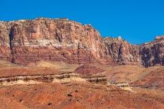 Vermilion Cliffs rocks Stock Photo