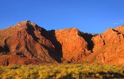 Vermilion cliffs. Scenic Vermilion cliffs national park area between Arizona and Utah Royalty Free Stock Images